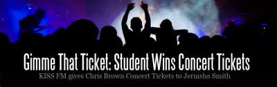 Smith Wins Chris Brown Concert Tickets