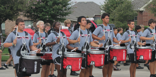 Drumline Reflects on Past Year