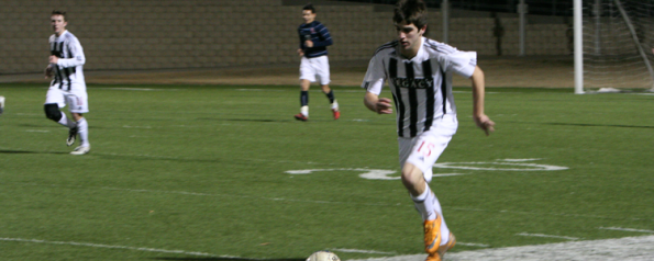 Men's Varsity Soccer Sets High Goals