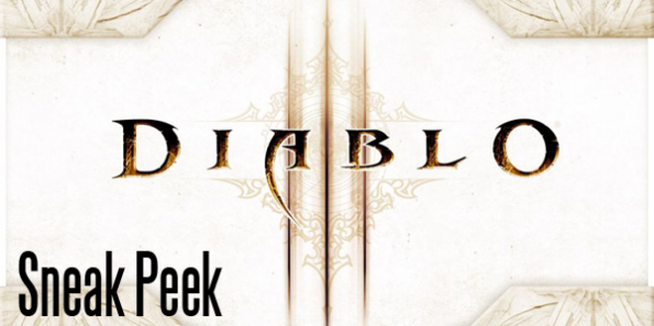 Sneak Peek: Diablo 3