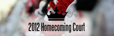 2012 Homecoming Court