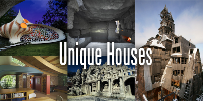 Unique Houses Around the World