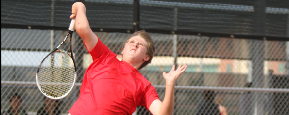 Varsity Tennis Team Makes Playoffs