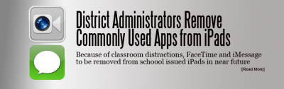 District Admin to Disable FaceTime, iMessage