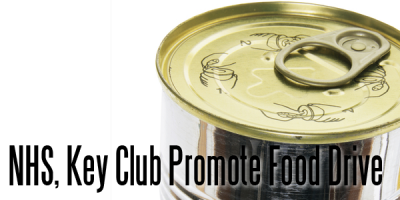 NHS, Key Club Promote Food Drive