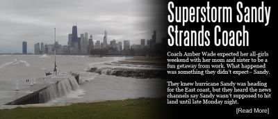 Superstorm Sandy Strands Volleyball Coach