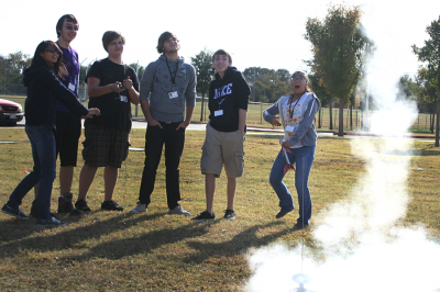 Physics Class Launches Rockets