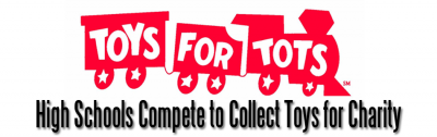 High Schools Compete to Collect Toys for Tots