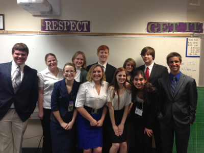 Academic Decathlon Teams Advance to State Competition