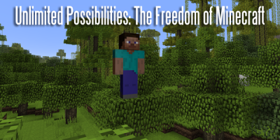 Unlimited Possibilities: The Freedom of Minecraft