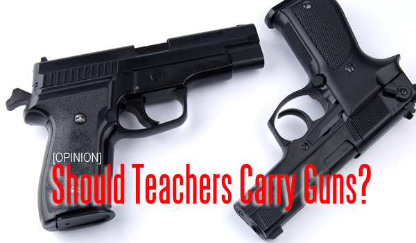 guns in school Bill to allow guns in schools will pass by a wide margin, because in this culture weapons are seen as the only way to handle things.