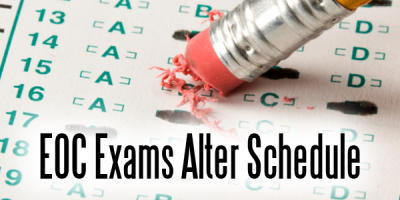 EOC Exams Alter Schedule