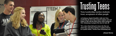Trusting Teens: Teen Leadership teaches students trust, acceptance of other people