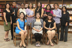 National Spanish Honor Society Inducts New Members