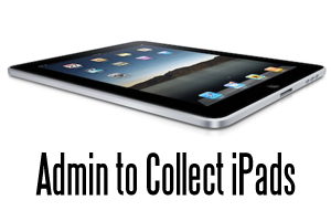 Students Return iPads