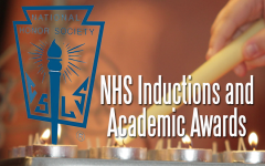 Students Attend NHS Inductions, Academic Awards