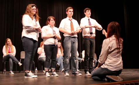 Improv Helps Raise L.U.C.K. Week Money