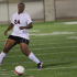 Danielle Hightower, 12, goes after the ball in the soccer game Legacy v.s. Diamond Hill.