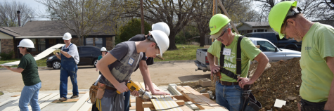 Habitat for Humanity: JROTC Helps Build Home