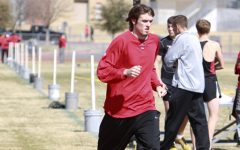 Track Team Competes at District Preliminaries