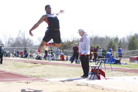 A Long Jump: Kenton Mayberry Places Ninth in State