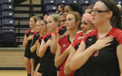 Principal Serves Up Incentive To Students Attending Volleyball Game