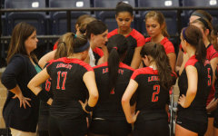 Varsity Volleyball Fights to Secure Playoff Spot