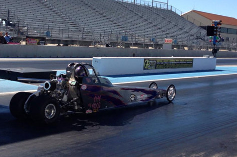 Life in the Fast Lane: Students Compete in Drag Racing