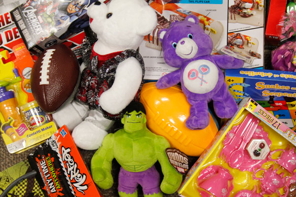 Toys for Tots Event Collects Gifts for Needy