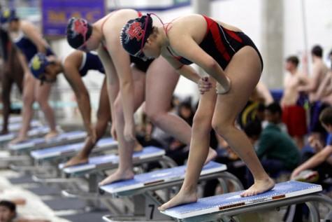 Swim Team Makes Statement At State Swim Meet