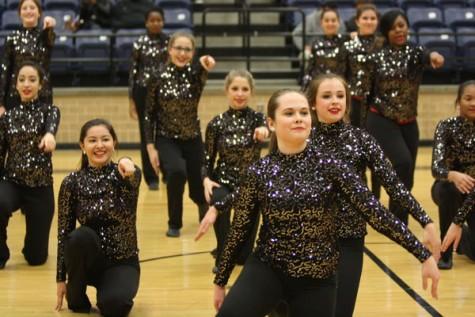 JV Drill Team Recieves Invitation to Perform in Parade