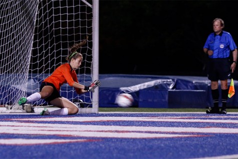 Girls' Soccer Makes School History