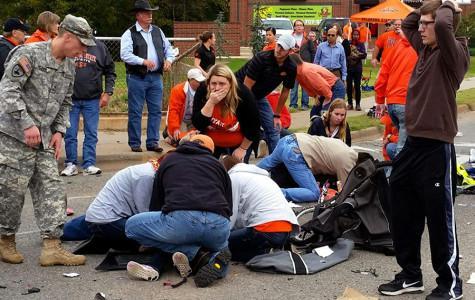 Legacy Grad First on Scene at OSU Tragedy
