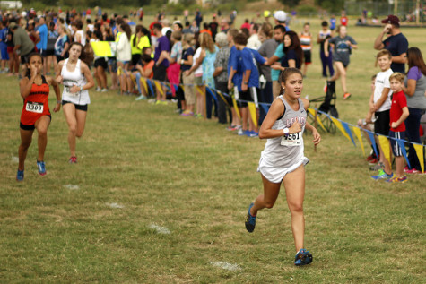 Junior Represents Legacy at Regional Cross Country Meet