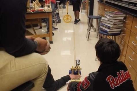 LBTV: AP Physics 1 Builds Catapults
