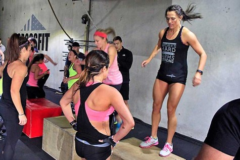 Teachers Compete in Crossfit