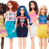 Mattel released news about a new line of Barbies, called fashionistas that are intended to change the way people view the doll.  The new line includes dolls of all shapes, looks and sizes that were designed around being more accepting of body image. [Screenshot from Mattel]