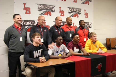 National Signing Day: Football Seniors Sign to College