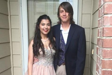 Briana Moreno and Nigel Mitcham