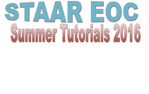 STAAR EOC Tutorials Scheduled for Retesting Students