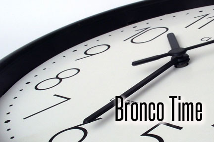 Bronco Time Integrated into Block Schedule