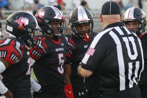 Varsity Football Begins District