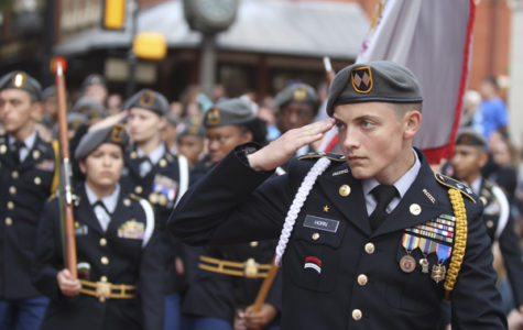 JROTC Iron Broncos Place 13th in Nation