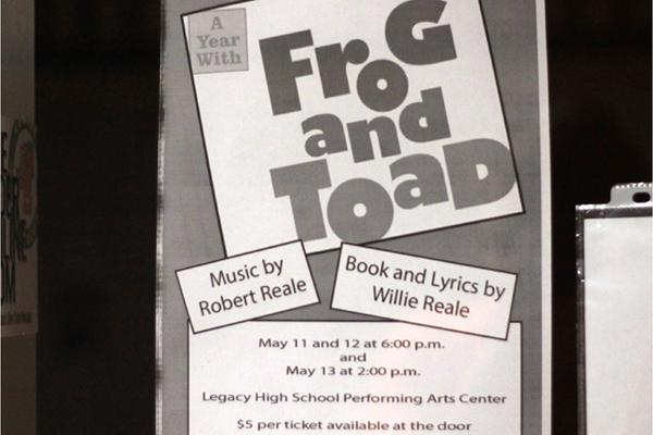 Theater Performs 'A Year with Frog and Toad'