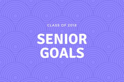 Class of 2018: Senior Goals