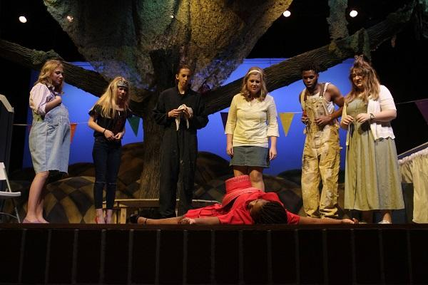 Legacy theater performs 'Faith County'.