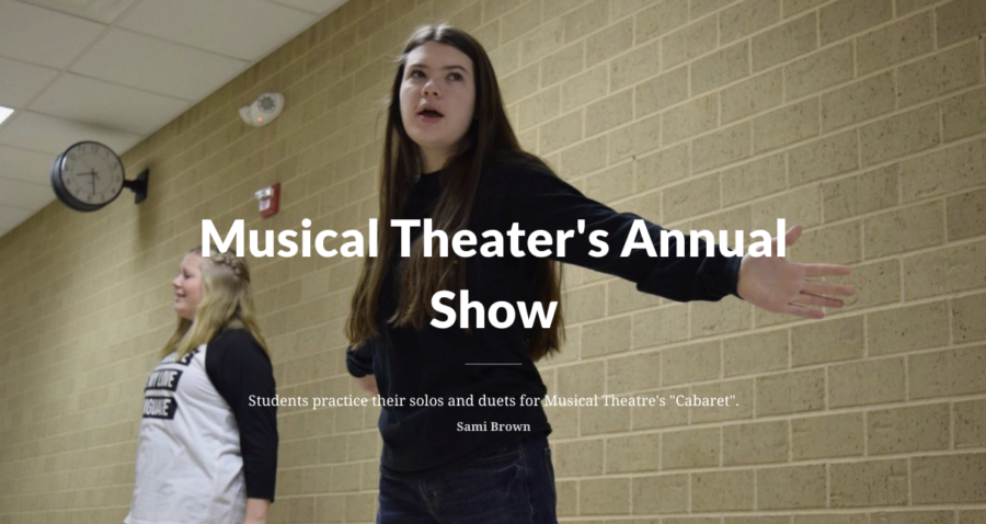 Musical Theater Prepares for Annual Show
