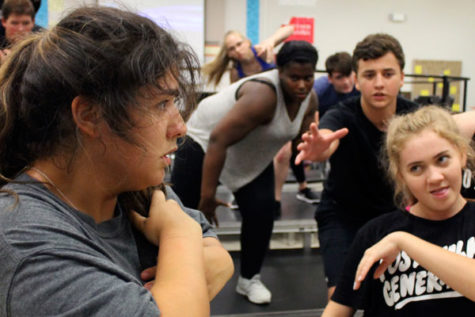 Show Choir Prepares for Contests