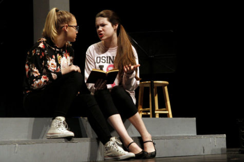 "Theatre Performs UIL One-Act Play ""Silent Sky"""