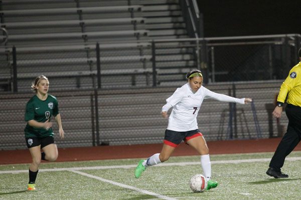 Girls' Soccer Prepares for Playoffs